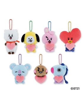 BT21 Buruburu Plush Keychains Vol. 2