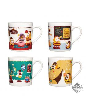 Ichiban Kuji Kirby Hat Studio Mugs INDIVIDUALS