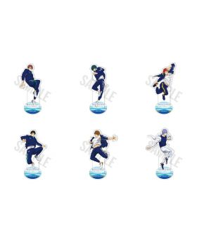Free! Road to the World Dreams Movie Goods Acrylic Stands Vol. 2 SECOND RESERVATION