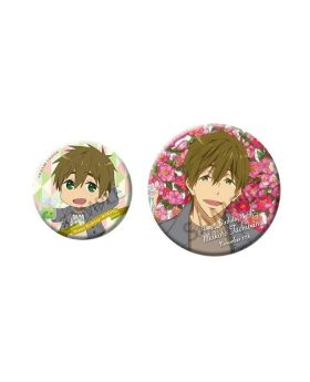 Free! Birthday Series Link Up Smile! Goods Can Badge Makoto