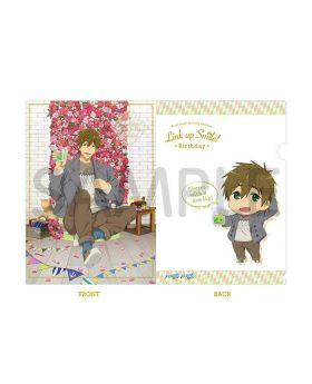 Free! Birthday Series Link Up Smile! Goods Clear File Makoto