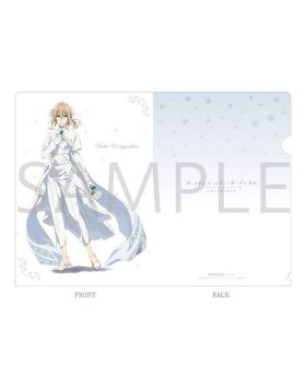 Violet Evergarden Kyoani Shop Clear File White Outfit Version