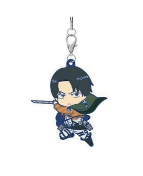Shingeki No Kyojin Attack On Titan The Final Exhibition Goods Levi Rubber Strap
