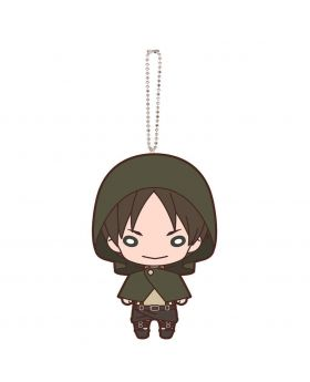 Shingeki No Kyojin Attack On Titan The Final Exhibition Goods Eren Nitotan Plush Keychain