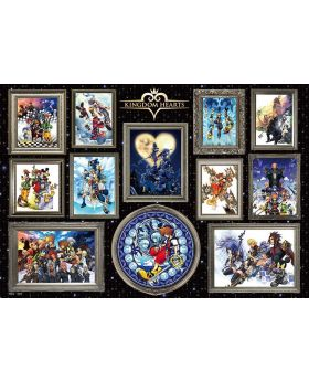Kingdom Hearts Compilation Official Art 1000 Piece Puzzle