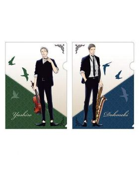 Twittering Birds Never Fly Volume x TOWER RECORDS Collaboration Goods Clear File Set