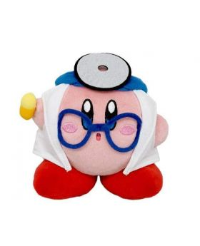 Kirby x Aeon Pupupu Try! Kirby! Waku Waku Works Plush Doctor