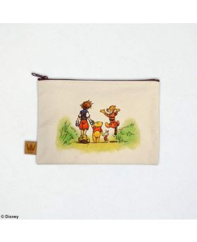Kingdom Hearts Square Enix Store Limited Edition Canvas Pouch 100 Acre Wood