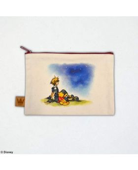 Kingdom Hearts II Square Enix Store Limited Edition Canvas Pouch 100 Acre Wood