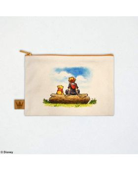 Kingdom Hearts III Square Enix Store Limited Edition Canvas Pouch 100 Acre Wood
