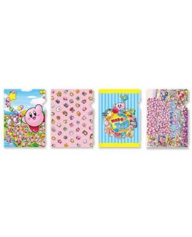 Kirby Wado's Toy Shop Collection Clear File SET