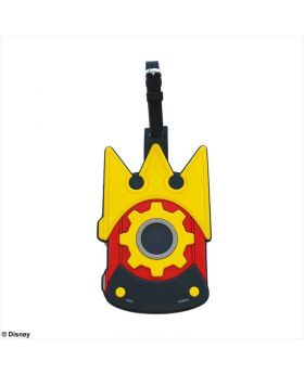 Kingdom Hearts 3 Square Enix Gummiphone Rubber Luggage Tag