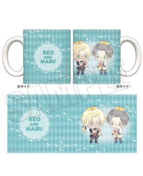 Sarazanmai x Animate Sanrio Collaboration Goods Mug Reo and Mabu
