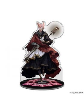 Final Fantasy XIV Square Enix Exclusive Acrylic Stand G'raha Tia Crystal Exarch