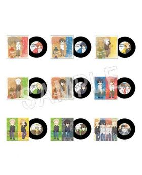 Given Chugaionline AGF 2019 Limited Edition Goods Record Coasters SET