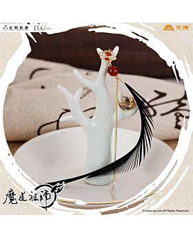 Mo Dao Zu Shi Aimon Exclusive Official Goods Wei Wuxian Earrings Black Feather