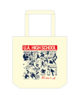 Boku No Hero Academia HEROES RISING Movie Sky Circus Collab Goods Tote Bag
