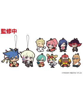 PROMARE XFlag Store Exclusive Goods Chibi Rubber Strap BLIND PACKS