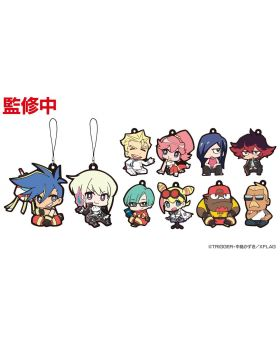 PROMARE XFlag Store Exclusive Goods Chibi Rubber Strap SET