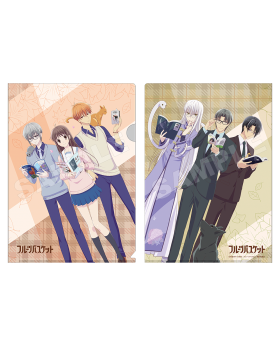 Fruits Basket AGF 2019 Limited Edition Clear File