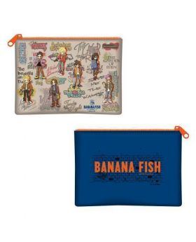 BANANA FISH Cafe & Bar Winter in NY Goods Flat Pouch