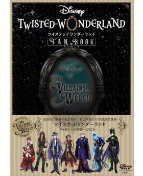 Twisted Wonderland Welcome to the Villain's World Fan Book