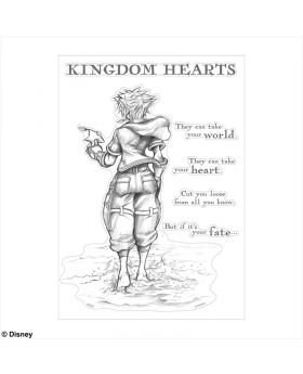 Kingdom Hearts Square Enix Exclusive Wall Sticker Sora Promise SECOND RESERVATION