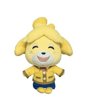 Animal Crossing Sanei Small Plush Isabelle Winter Outfit SECOND RESERVATION