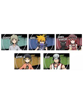 The World Ends With You the Animation Amnibus Goods Card Stickers