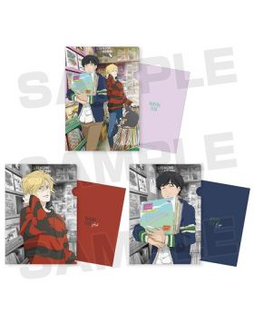 BANANA FISH x Tower Records Pop Up Shop Clear Files