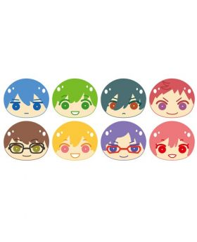 Free! Dive to the Future Niginigi Omanju Mascot Keychains Box A SET
