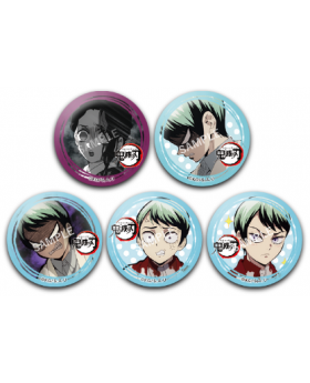 Kimetsu No Yaiba Ufotable Character Expression Can Badge Vol. 2 BLIND PACKS