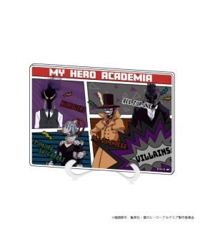 Boku No Hero Academia GraffArt Acrylic Art Board Villains