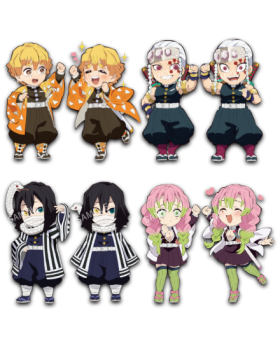 Kimetsu No Yaiba Ufotable SD Chibi Acrylic Stand Vol. 4 BLIND PACKS SECOND RESERVATION