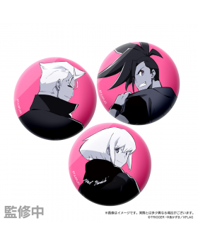 PROMARE XFlag Store 2nd Anniversary Can Badge Set