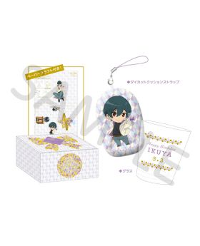 Free! Birthday Series Link Up Smile! Goods Glass Cup Set Ikuya