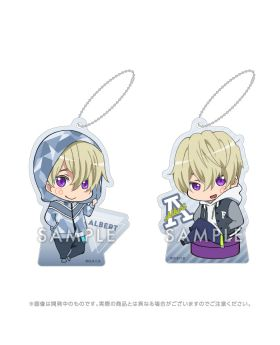 Free! Road to the World KyoAni Shop Exclusive Chibi Acrylic Keychain Set Alfred