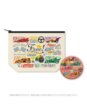 Free! Road to the World KyoAni Shop Limited Edition Pouch and Mirror Set Racing Version