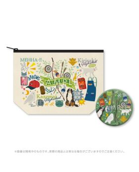 Tsurune KyoAni Shop Limited Edition Pouch and Mirror Set