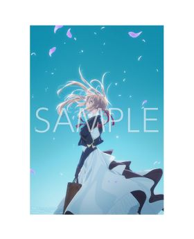 Violet Evergarden KyoAni Shop A2 Art Poster Movie Version Type B