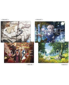 Violet Evergarden KyoAni Shop Colors Clear File Set