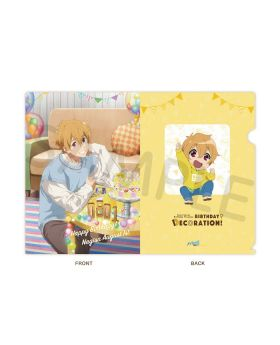 Free! BIRTHDAY DECORATION 2020 Hazuki Nagisa Clear File