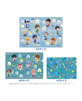 Free! Road to the World KyoAni Shop Clear File Set Casual Ver.
