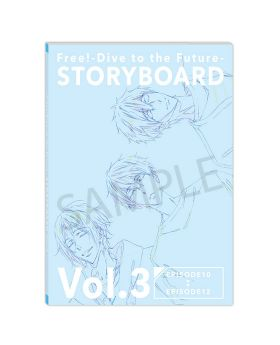Free! Dive to the Future Storyboards Vol. 3