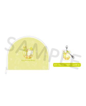 Free! BIRTHDAY DECORATION 2020 Natsuya Pouch and Charm Set
