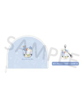 Free! BIRTHDAY DECORATION 2020 Nao Pouch and Charm Set