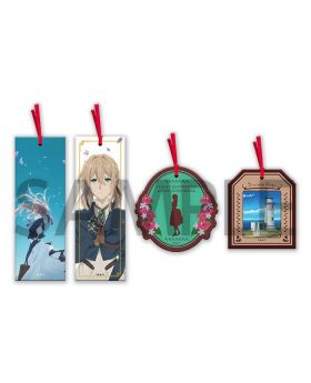 Violet Evergarden KyoAni Shop Premium Clear Bookmark Set Movie Ver.