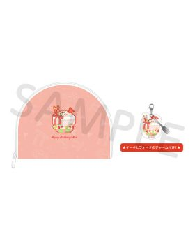 Free! BIRTHDAY DECORATION 2020 Rin Pouch and Charm Set