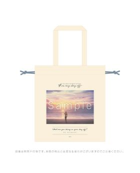 Free! Road to the World KyoAni Shop On My Day Off Tote Bag Ryugazaki Rei