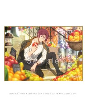 Free! Road to the World KyoAni Shop On My Day Off Blanket Matsuoka Rin
